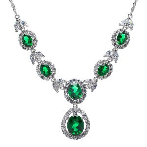 Latest Emerald Necklace Designs