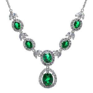 Latest Emerald Necklace Designs