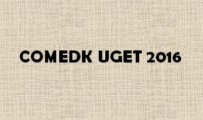 COMEDK UGET 2016 Logo