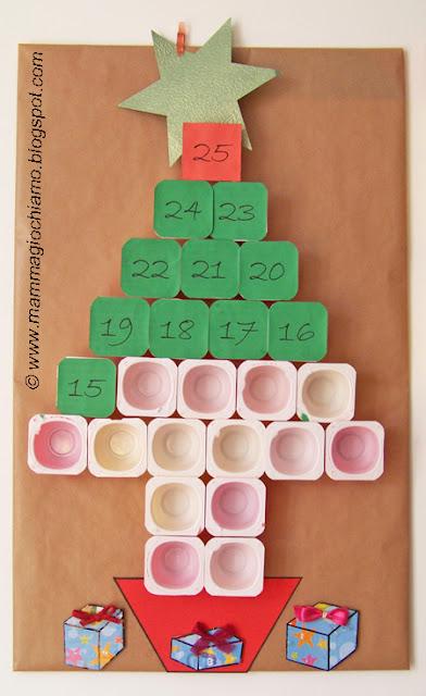 natale idee calendario avvento : ... per lalbero di Natale... o per il calendario dellavvento