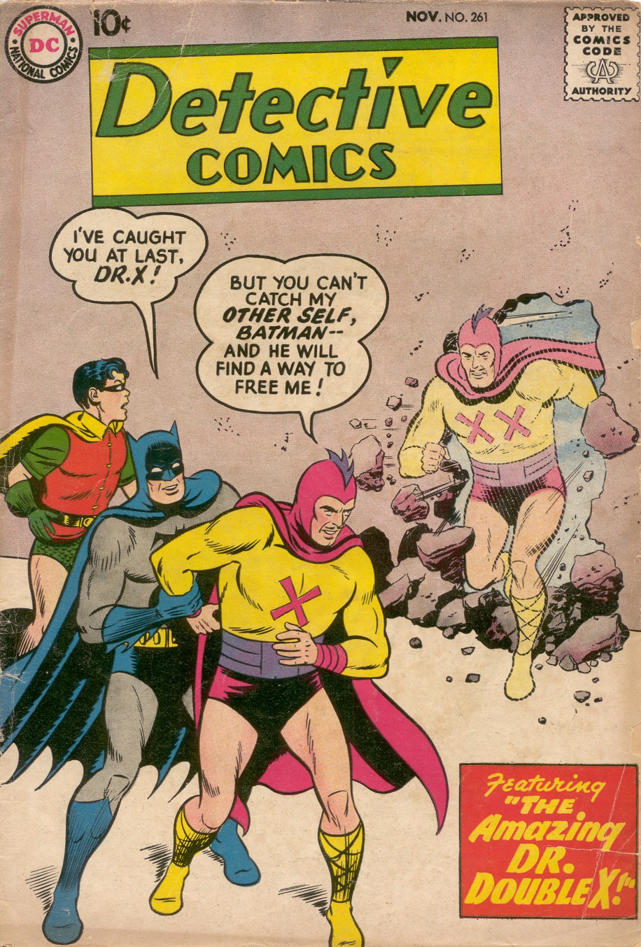 Detective Comics (1937) 261 Page 1
