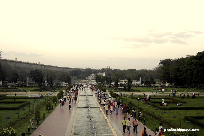 World Tour And Travel Guide Brindavan Gardens in Mysore