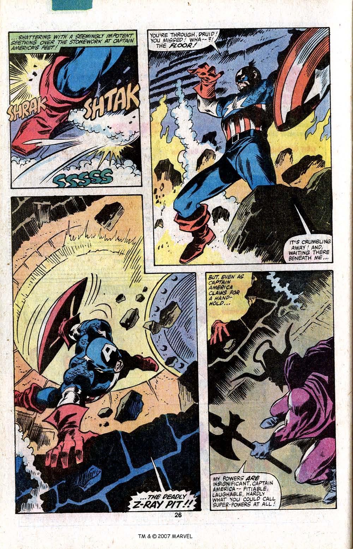 Captain America (1968) Issue #256 #171 - English 28