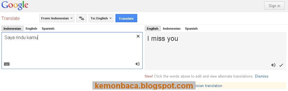 situs terjemahan online terbaik