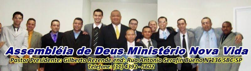 Igreja Evangélica Assembléia de Deus Ministério Nova Vida