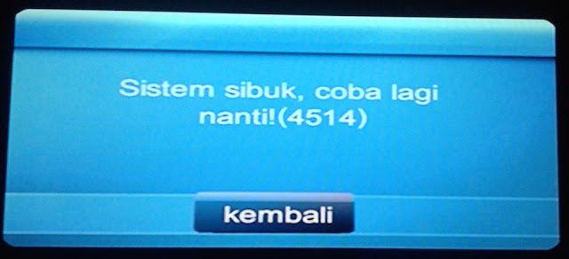 STB / UseeTV error dan solusinya Indihome