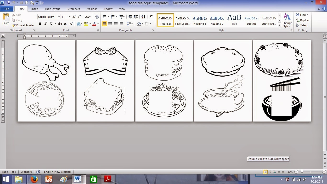 Topic: Food Glorious Food! - A Project Idea and Template (free ...