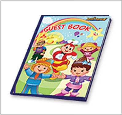 Jollitown theme guest book