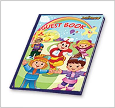 Jollitown theme guest book