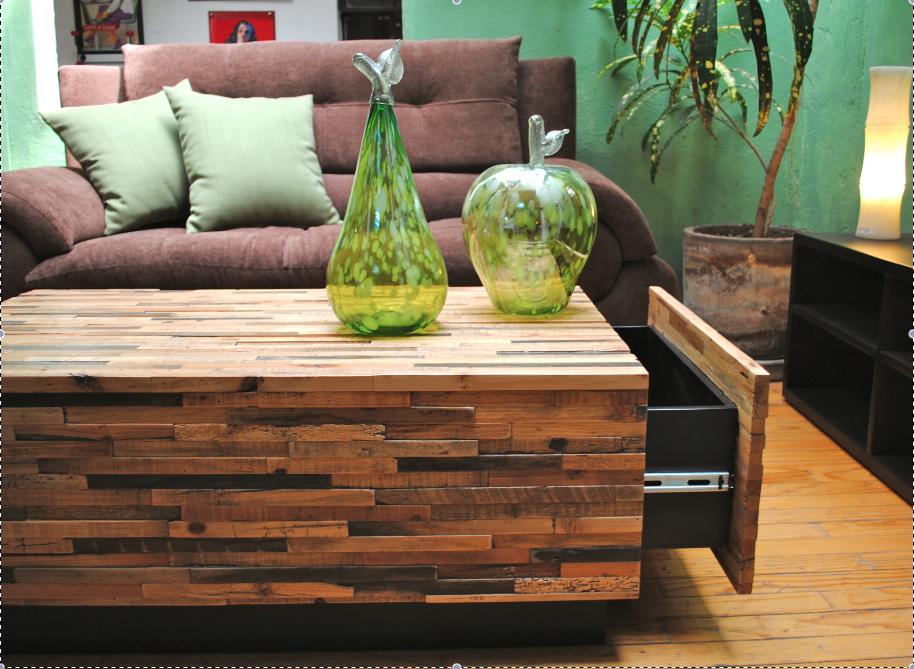 Muebles condesa muebles de madera reciclada for Muebles con madera reciclada