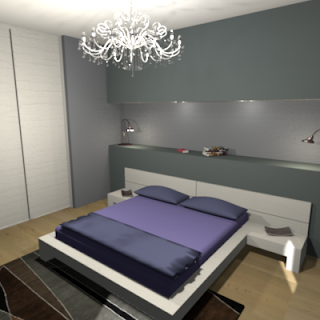 Consigli d 39 arredo la camera da letto in muratura for Parete testiera letto