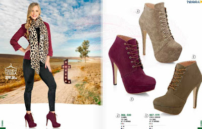 Mundo Terra : calzado para las damas otoño invienro 2015