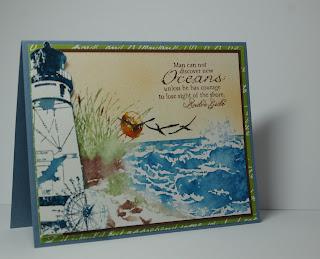 Our Daily Bread Designs, Keep My Lamp Burning, The Sea, Lee Ann Barrett