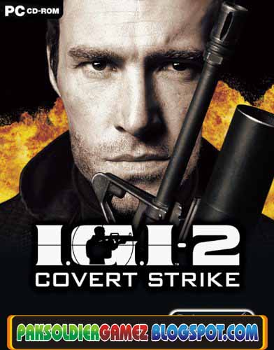 Project IGI 2: Covert Strike pc game poster-download link via rapidshare
