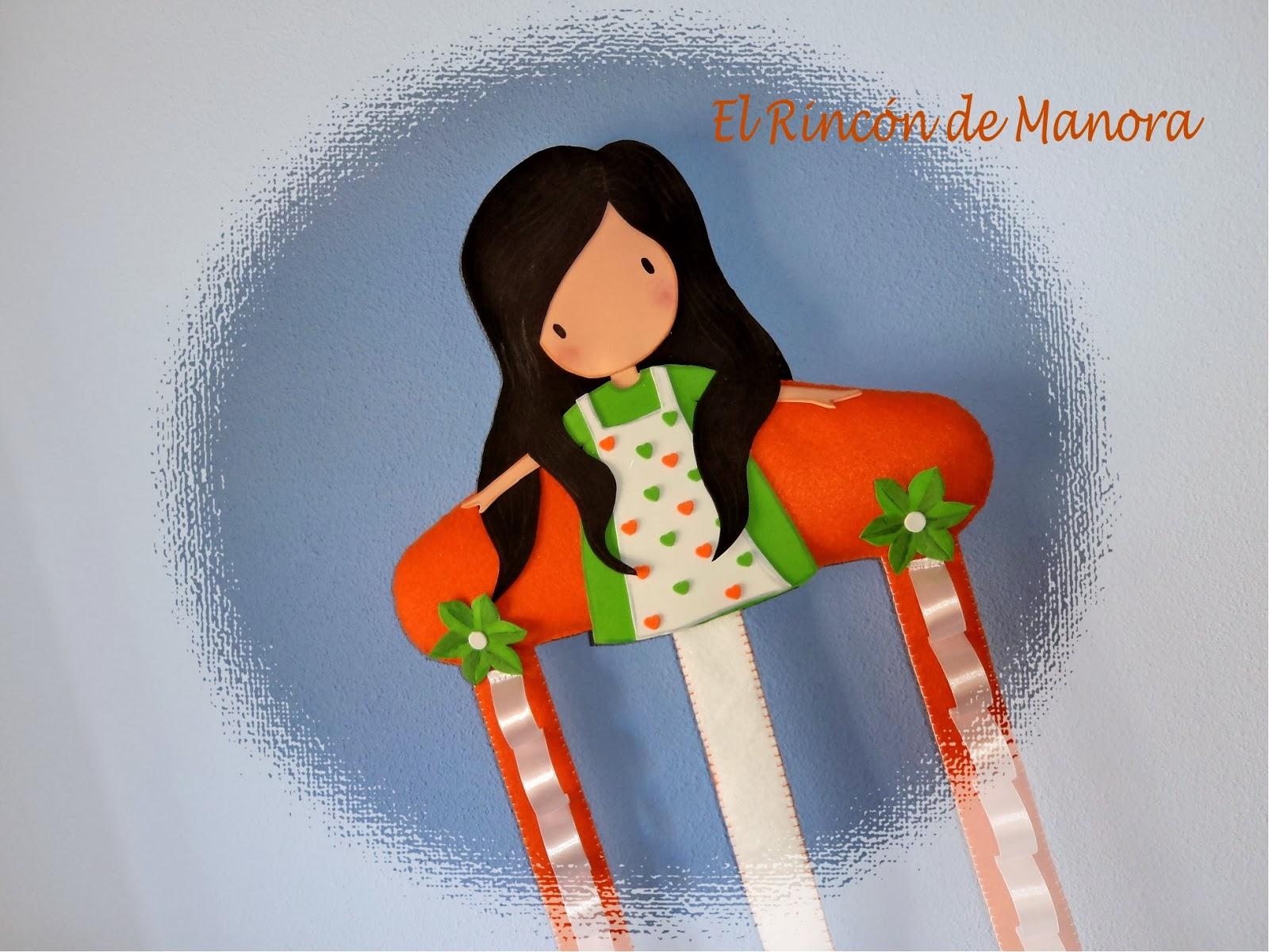 El rinc n de manora diademero esta vez en naranja - Colgadores marta ...