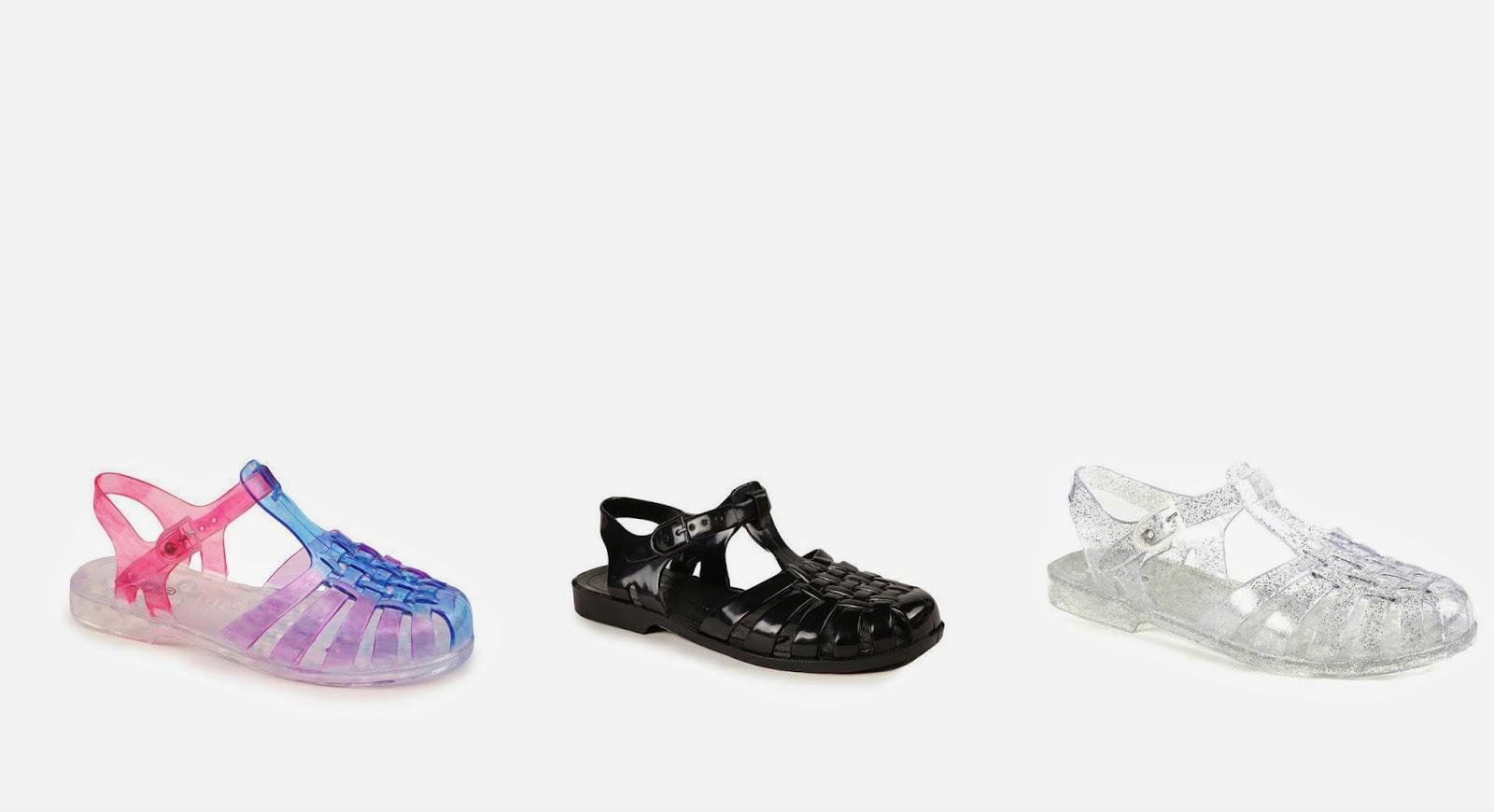 White sandals rubi shoes - Jessica Jelly Sandal
