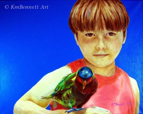 D4 - Boy & bird
