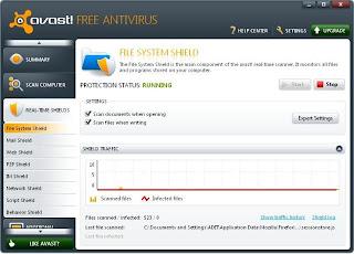 Download Avast 6 Antivirus Free Edition + Sn