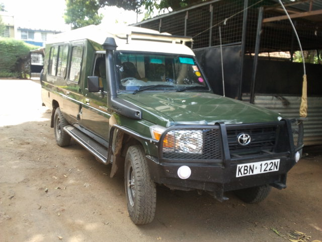 Pick Up Car Hire Kenya