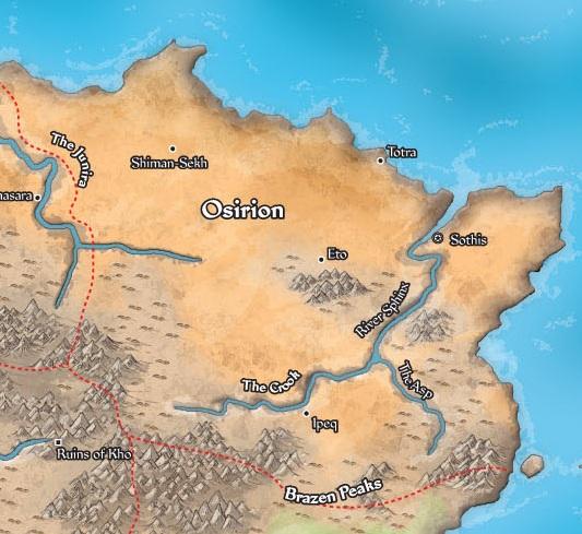 Map Of Osirion