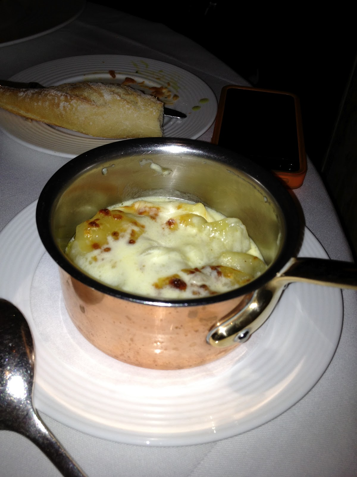 how to serve pommes dauphinoise