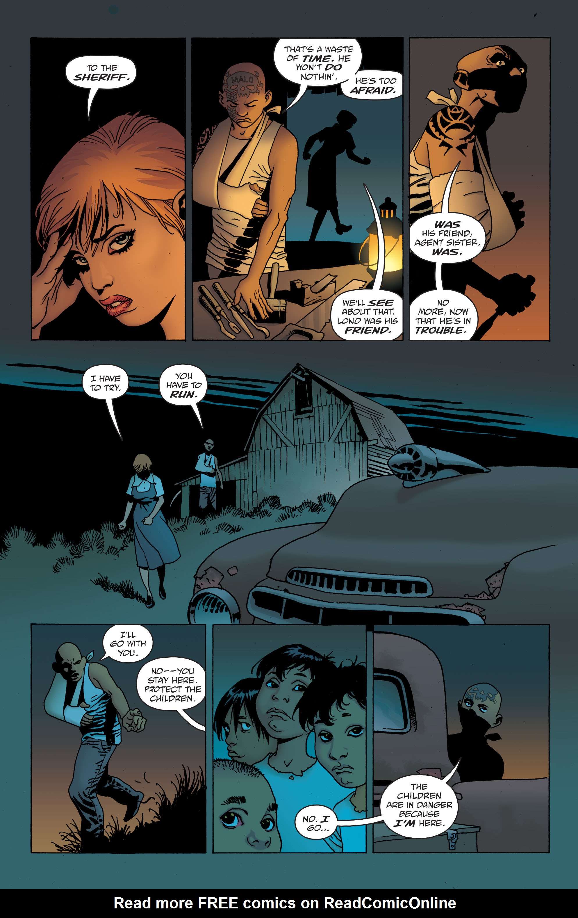 100 Bullets: Brother Lono Full Page 147