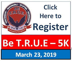 2019 Be T.R.U.E. 5K REGISTER HERE