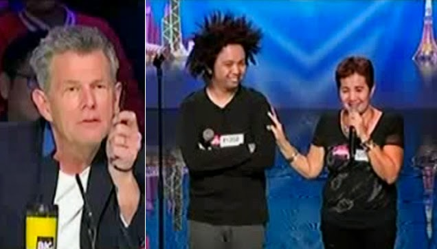 David Foster, Rodfil and Fe on Asia's Got Talent