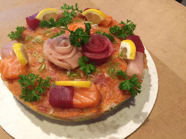 Sushi Birthday Cake Sushi Tei