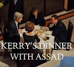 John Kerry sups with Assad