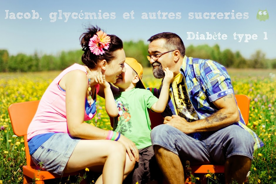 Jacob, glycmies et autres sucreries!                            Diabte Type 1