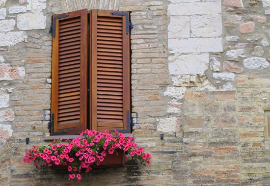 Typical Italian window