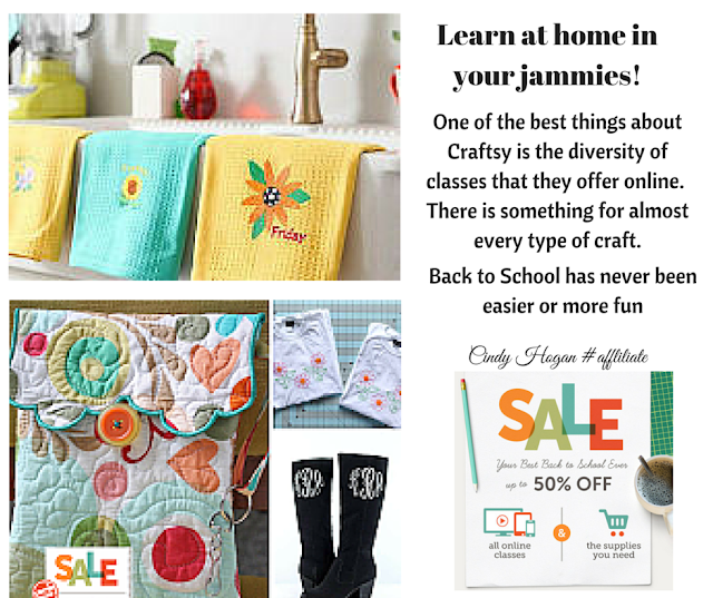 Craftsy 50% off sale