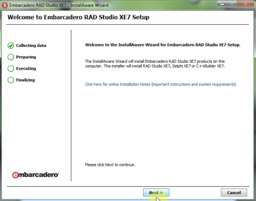 embarcadero rad studio 2010 serial number download
