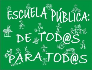 A FAVOR DE LA ESCUELA PBLICA