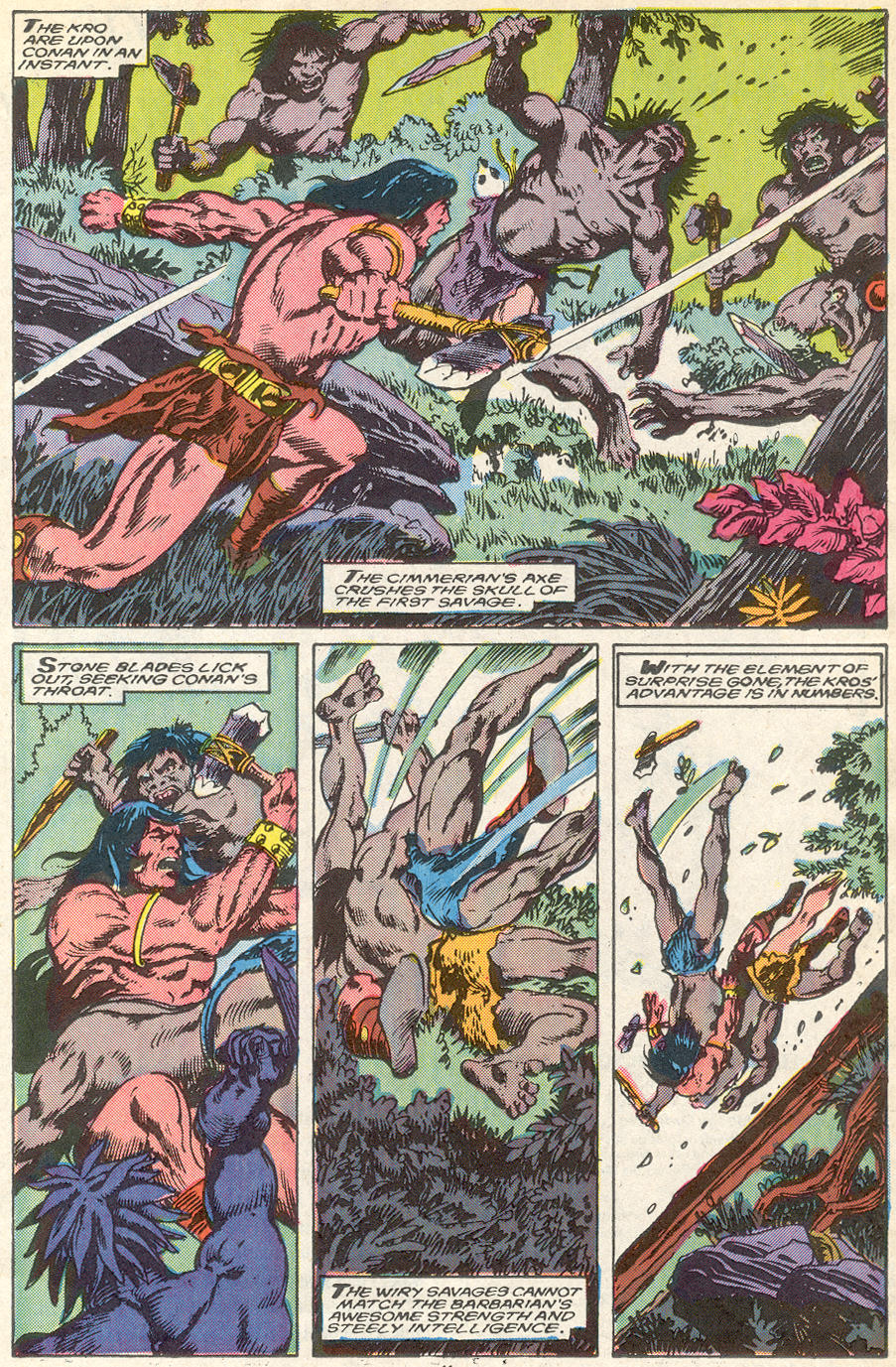 Conan the Barbarian (1970) Issue #218 #230 - English 9