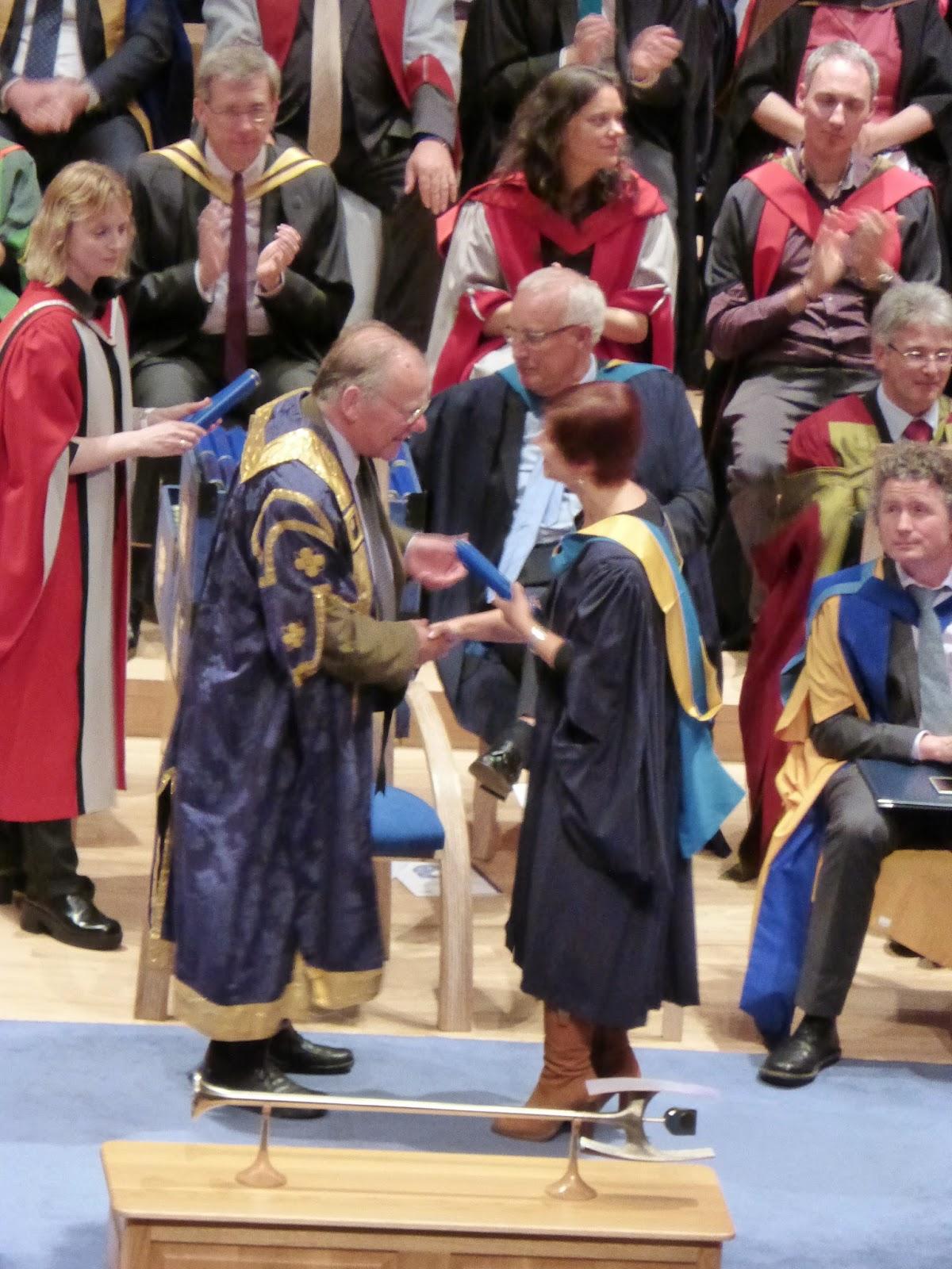open University manchester 2014 graduation ceremony