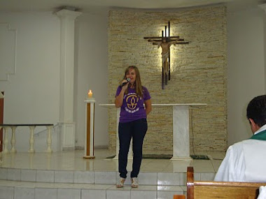 Missa da pastoral diocesana Capela N.S.dos Pobres