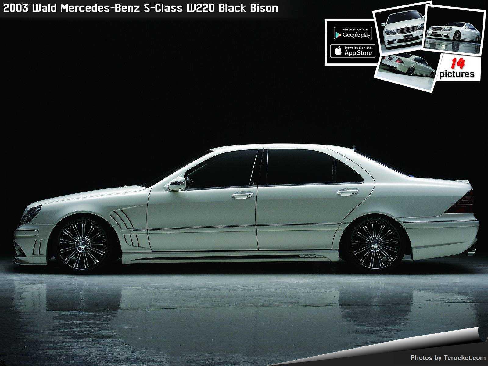 Hình ảnh xe độ Wald Mercedes-Benz S-Class W220 Black Bison 2003 & nội ngoại thất