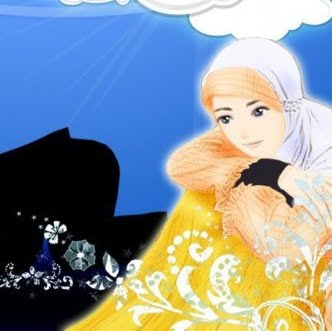 Kumpulan Gambar Cewek Cantik Berjilbab Gambar Kartun Muslimah Wanita Cantik Memakai Jilbab