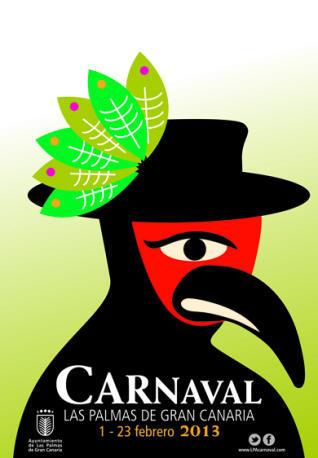 cartelcarnaval2013 - EN CANARIAS: Carnaval de Las Palmas