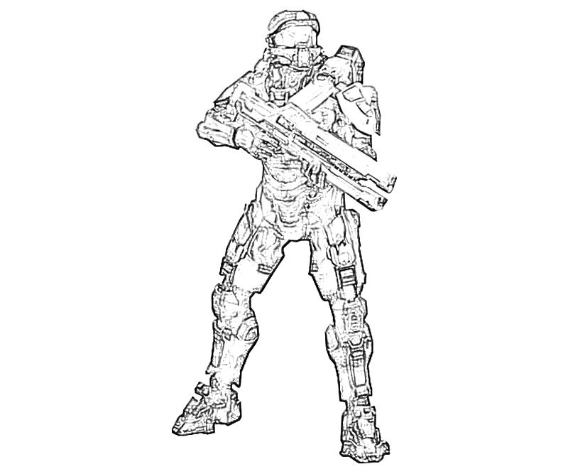 Free Coloring Pages Halo 4 Coloring Pages To Print