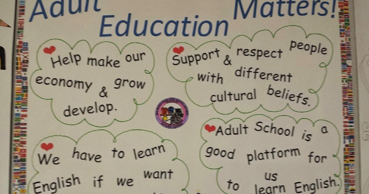 San Mateo Adult School: 2014 Adult Education Week Poster Contest
