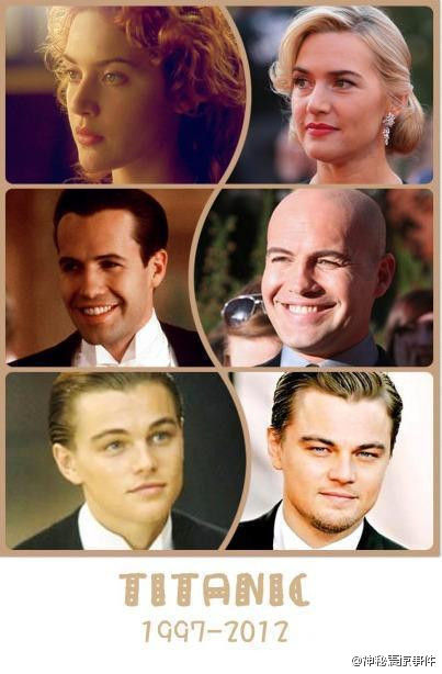 Titanic Cast Members Then And Now
