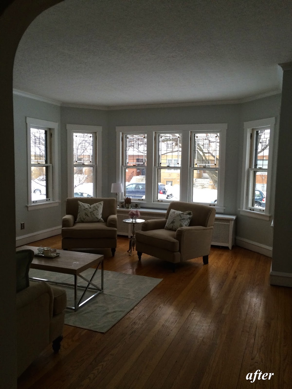 living room renovation.  is ever going to be perfect but it a heck of lot better than where we started So with out further ado here our living room transformation restore style Living Room Renovation Complete