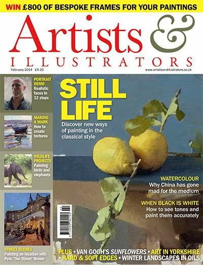 Artist and Illustrator Magazine February 2014