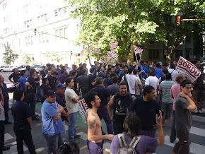 algunas fotos de cuando los obreros entraron a la CGT