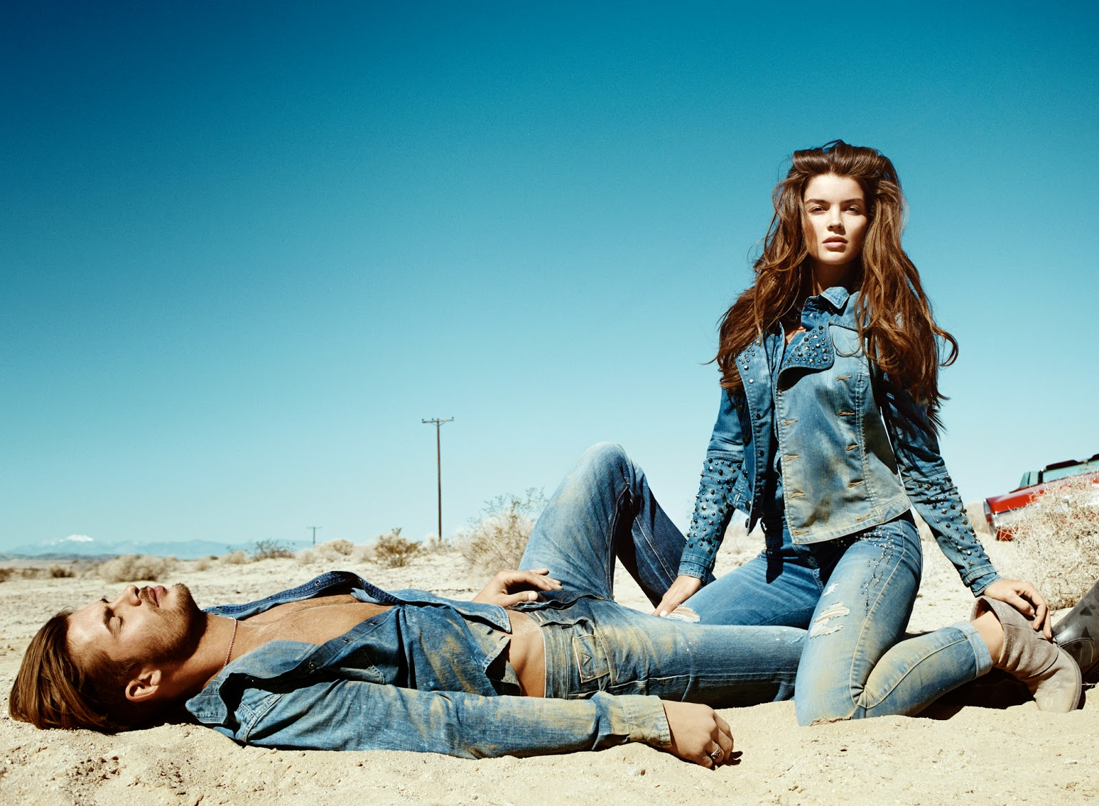 guess jeans ad for guess jeans fall ad hot girls wallpaper