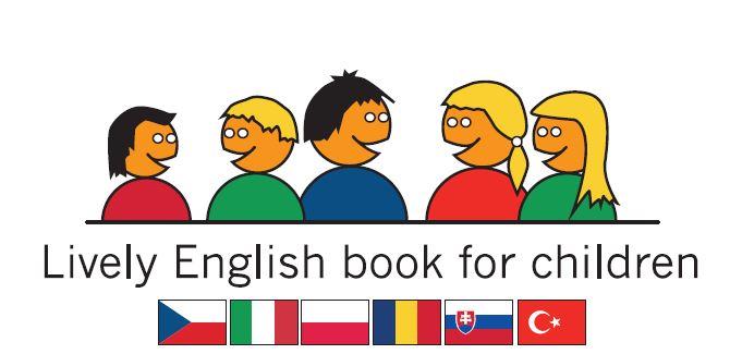 Lively English book for chlidren