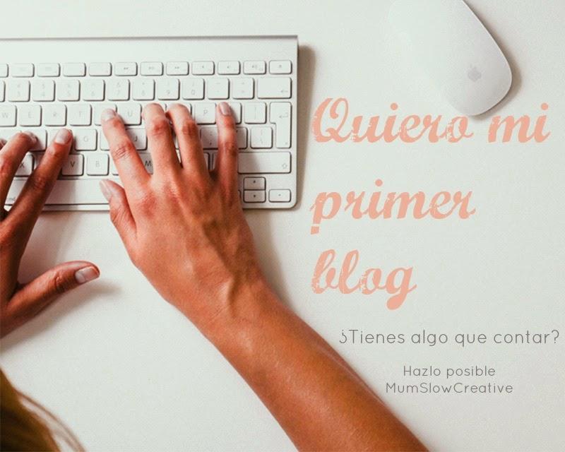 tutorial cómo hacer un bog en blogger